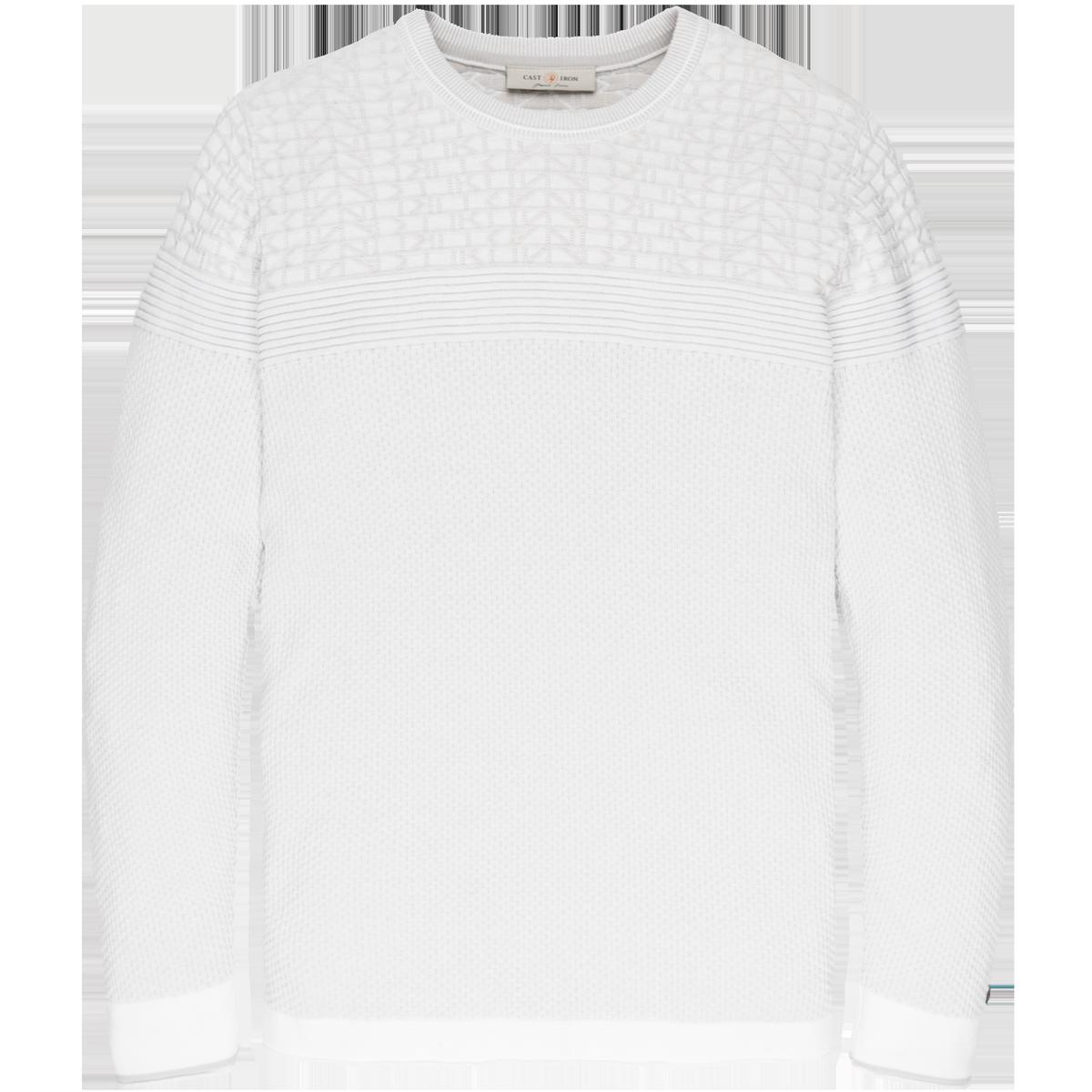 Cotton crewneck pullover CKW201301 Cast Iron clothing